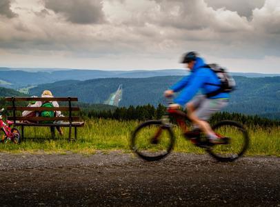 Mountainbiken im Vogtland, Vogtland Bike, Bikewelt Schöneck, Schneckenstein