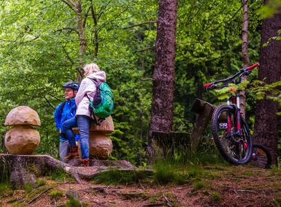 Mountainbiken im Vogtland, Vogtland Bike, Bikewelt, Rund um Schöneck